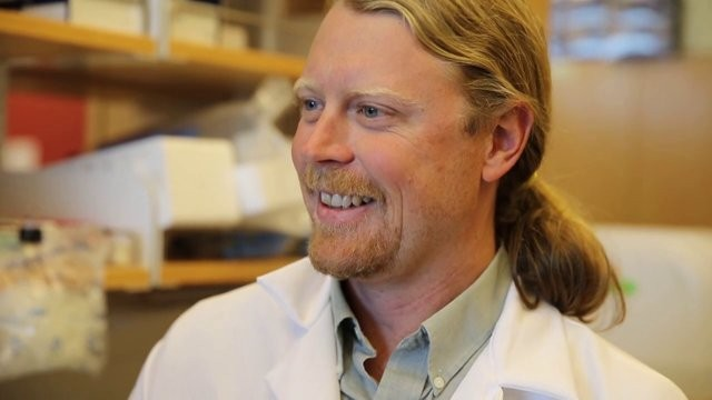Dr. Bradley Messmer of the Moores Cancer Center at UCSD and Abreos Biosciences.