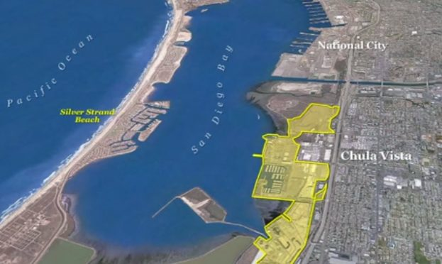 "The 535-acre Chula Vista bayfront site is considered ""one of the last great waterfront development opportunities in California."""