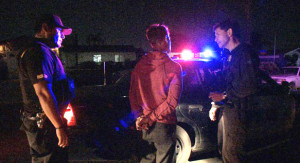Arrest in San Diego County. Image via County News Center