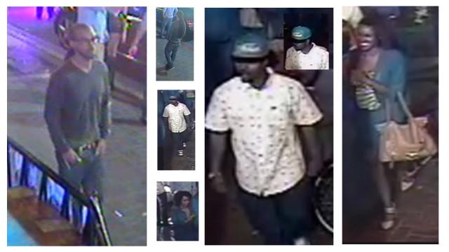 Surveillance photos. Courtesy of Crime Stoppers.