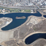 Aerial view of Fiesta Island