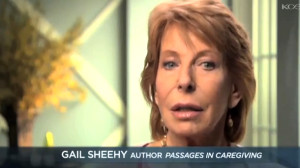 """Gaily Sheehy, author of """"Passages."""" Image via YouTube"""