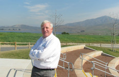 San Diego County Supervisor Greg Cox at Sweetwater Park. Photo courtesy supervisor's office