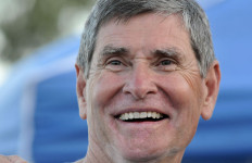 Jim Ryun shared the spotlight with many San Diego running icons and officials.