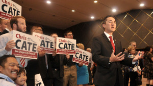 Chris Cate led the District 6 field for San Diego City Council. Photo by Chris Stone