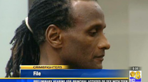 Kettrell Berry at earlier hearing. Image va KFMB-TV.