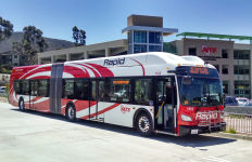An MTS Rapid bus. Photo by Chris Jennewein