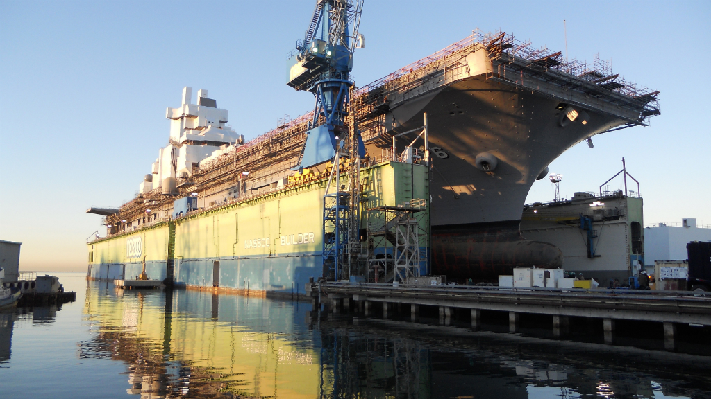 NASSCO shipyard has built and repaired many ships for the Navy and others.  Photo courtesy NASSCO