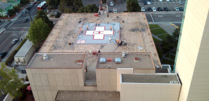 San Diego-based Pacific Building Group upgrades the UCSD Hillcrest Trauma Center helipad. Image courtesy Pacific Building Group