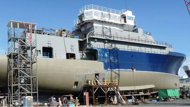 The research vessel Sally Ride will get a new scientific radar.