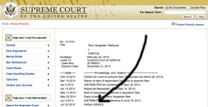 Supreme Court denies Terry Vangelder petition in drunken driving case. Image from supremecourt.gov