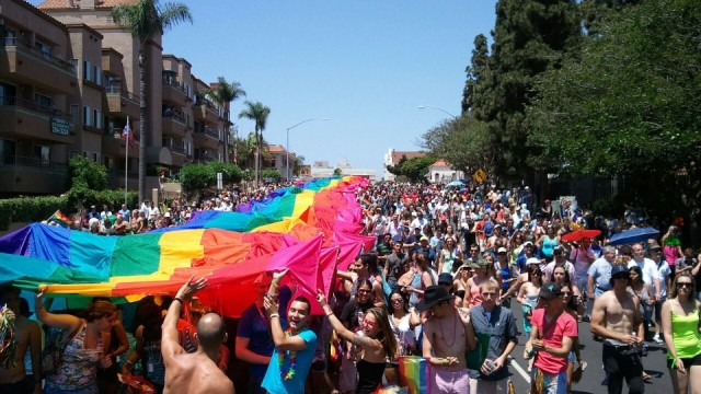 Photo credit: San Diego Pride.