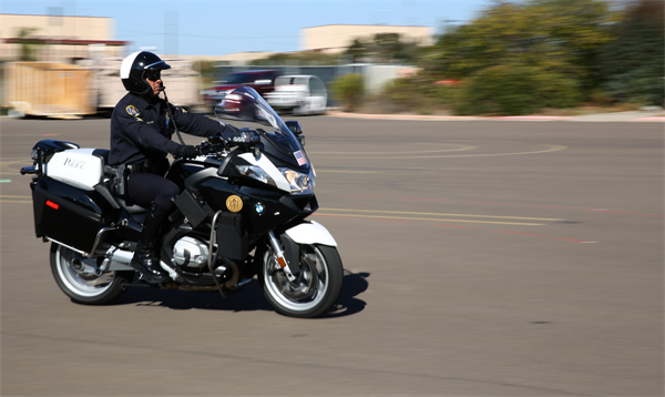 San Diego police. Photo credit: Miramar.Marines.mil