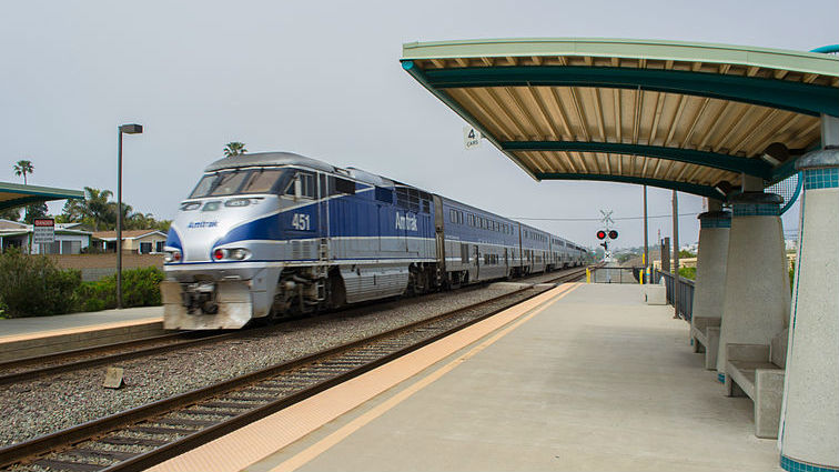 Man on Tracks Struck, Killed by Amtrak Train in Carlsbad | Times of San Diego