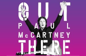 Poster for Paul McCartney tour, set to arrive in San Diego in September. Photo credit: Petco Park, via Twitter.