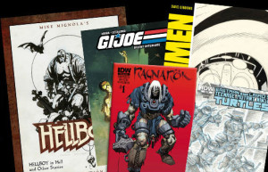 IDW titles for Comic-Con 2014. Image courtesy IDW