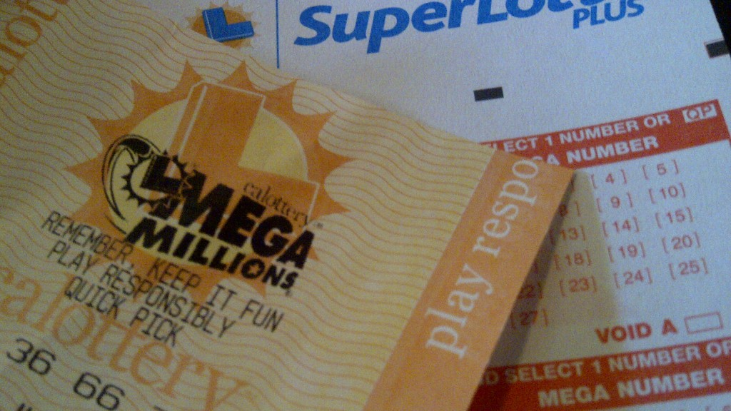 California lottery ticket. Photo credit: Alexander Nguyen