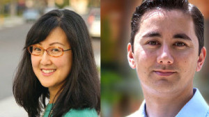 City Council District 6 candidates Carol Kim and Chris Cate. Campaign photos