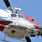 San Deigo Fire-Rescue helicopter