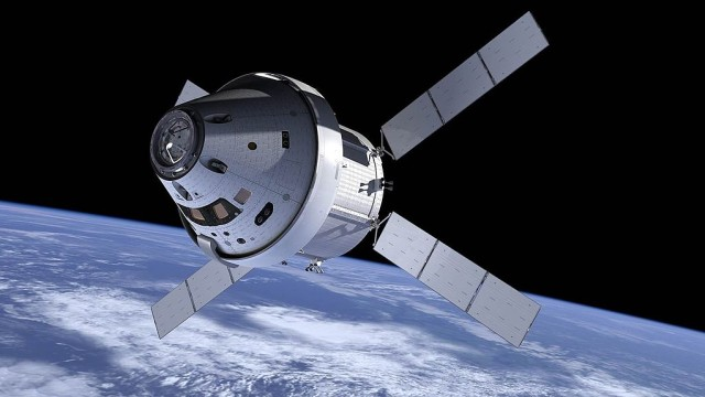 The Orion multi-purpose crew vehicle. NASA photo