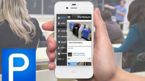 Portfolium Mobile App