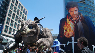 A street scene in downtown San Diego during Comic-Con 2014. Photo by Chris Stone