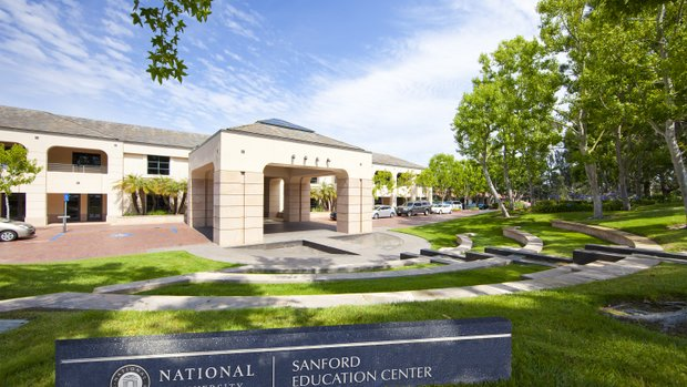 The Sanford Education Center located in National University's Torrey Pines headquarters. Photo courtesy of National University