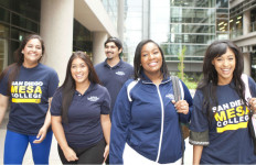 Students at Mesa College. Photo courtesy San Diego Community College District