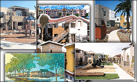 Affordable housing projects. Image courtesy of city of San  Diego.