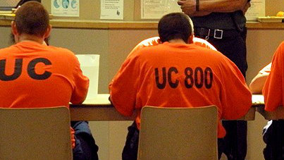Youth in detention in San Diego County. Photo credit: CountyNewsCenter.com