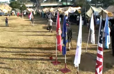 Stand Down event for homeless veterans (seen in 2009) served nearly 900 people in 2014. Image via YouTube.com