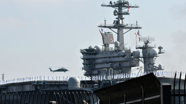 The USS Carl Vinson moved out of San Diego Aug. 22 and heading to the Middle East.