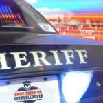 San Diego Sheriff's cruiser
