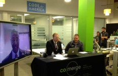 Faulconer at Co-Merge