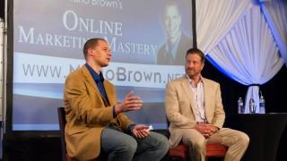 Mario Brown's online marketing mastery conference. Courtesy Mario Brown