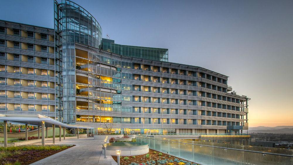 The Palomar Medical Center in Escondido. Photo courtesy Palomar Health