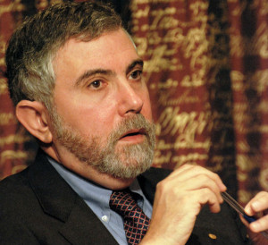 Economist Paul Krugman. Photo via Wikimedia Commons
