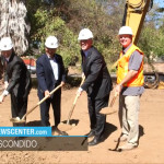 Road Project groundbreaking