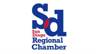 The San Diego Regional Chamber of Commerce's new logo.