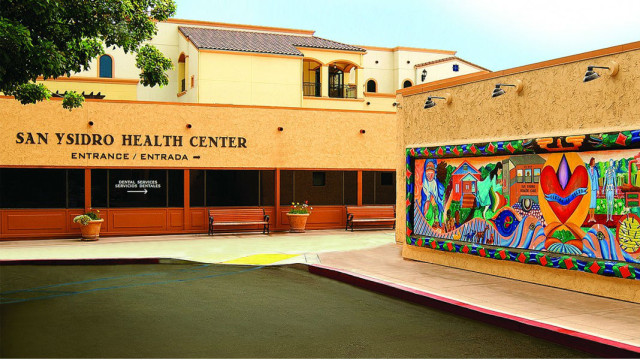 The San Ysidro Heath Center, one of 16 community clinics represented by the Council of Community Clinics. Photo courtesy the council