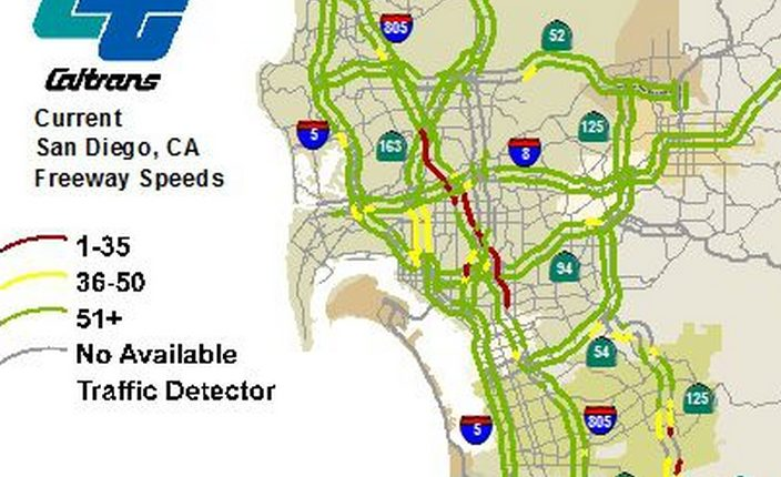 Update I Jammed As Authorities Aid Suicidal Man Times Of - Caltrans traffic map