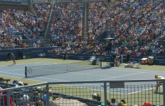 A match during the third day of the U.S. Open. Photo courtesy usopen.org