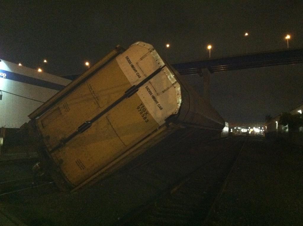 Barrio Logan train detrailment