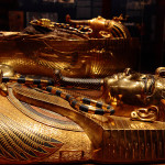 King tut golden mummy cases