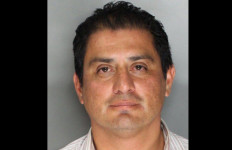 Ben Hueso mugshot, following DUI arrest. Photo credit: Sacramento Sheriff's Department