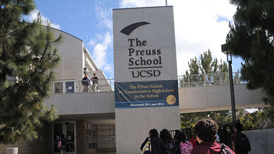 The Preuss School at UCSD. Photo courtesy Preuss School.