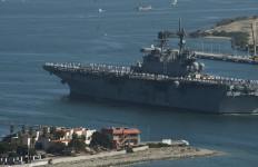 USS America arriving in San Diego