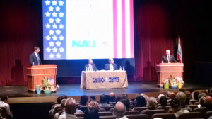The debate at Cuyamaca College.