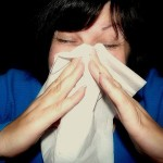 sick, sneezing, common cold