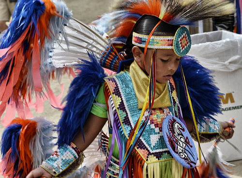 Go out to El Cajon this San Diego weekend and celebrate Native Americans at the Sycuan Pow-wow. Photo credit: User onewhowaits, via Flickr.